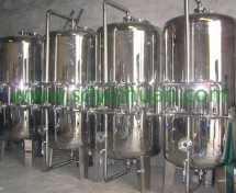 Stainless steel mechanical filters